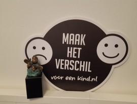 Prijs voor campagne 'Maak het verschil voor een kind'